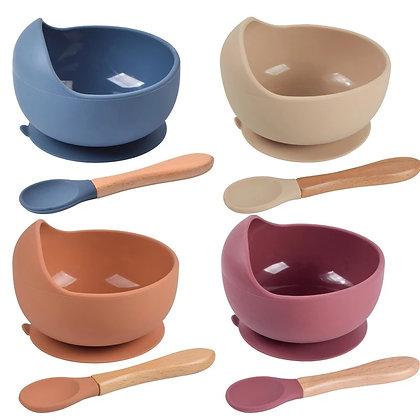 Tuut bowls met bamboo lepel