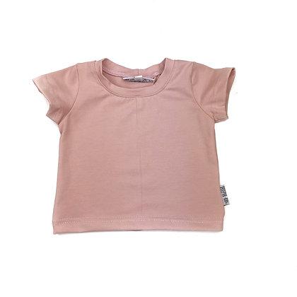 T-shirt korte mouw roze