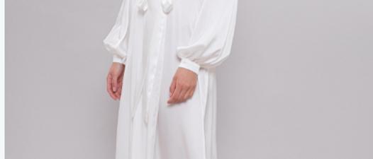 Nina Silk & Lace Wedding Day Robe