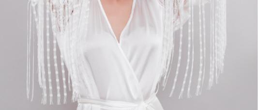 Josephine Roaring 20's Silk Robe