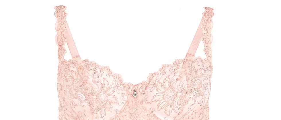Romance Balconette Soft Bra - Roses