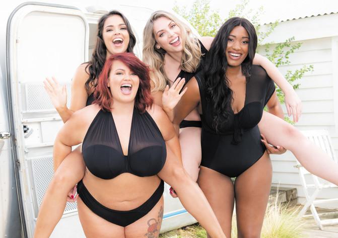Curvy Kate Wrapsody Bandeau Swimsuit