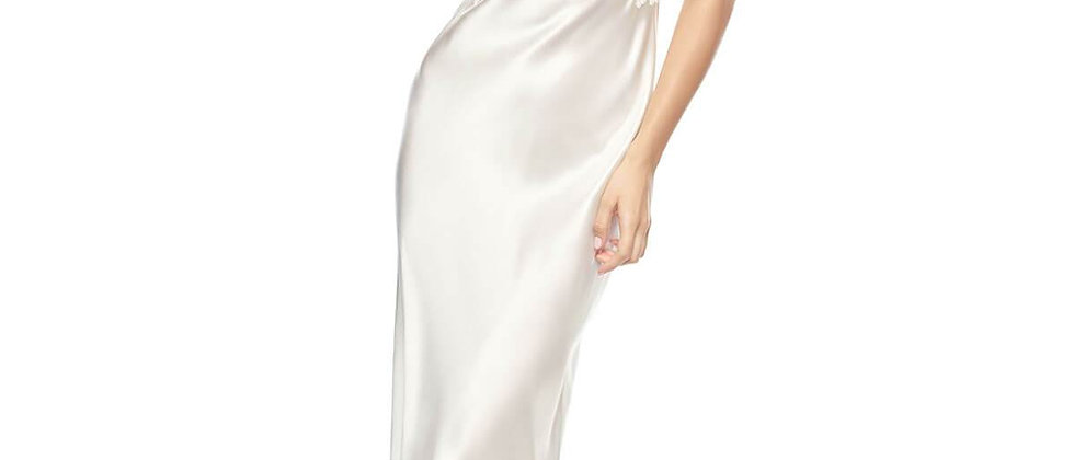 Jezebel After-Dark Long Gown in Ivory