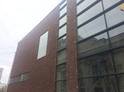Навесной кирпичный фасад