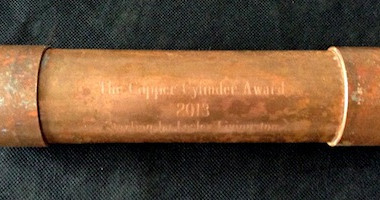 The Skids Wins The Copper Cylinder Award