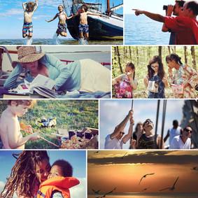 Impressies Ouder Kind vakantie op Gelukschip