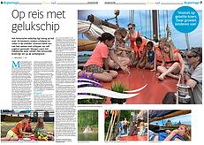 Gelukschip Artikel Dagblad Noord-Holland