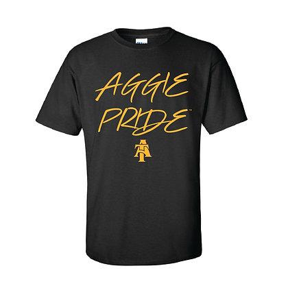 NCA&T086  Aggie Pride Black Short Sleeve