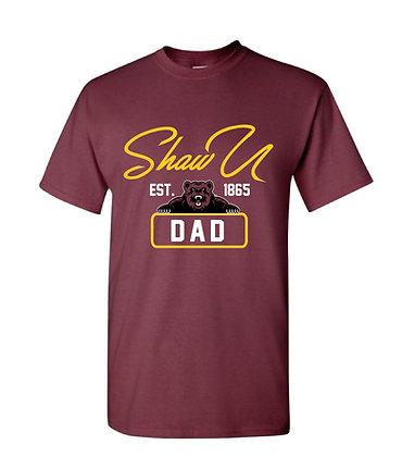 Shaw U 047 Maroon Dad Tee