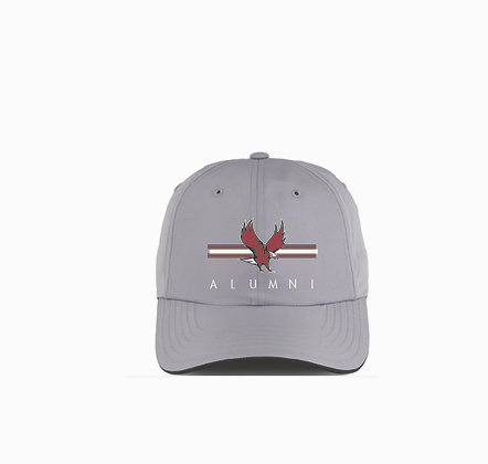 NCCU133  Light Grey Alumni Hat
