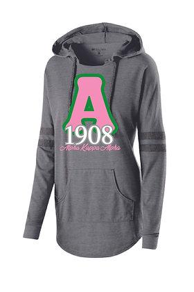 AKA020 Ladies 1908 Low Key Pullover Hoodie