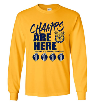 NCA&T Four Time Meac Championship Long Sleeve