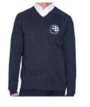 D475 Devon & Jones Men's V-Neck Sweater