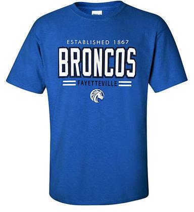 FSU002 Royal Blue Broncos