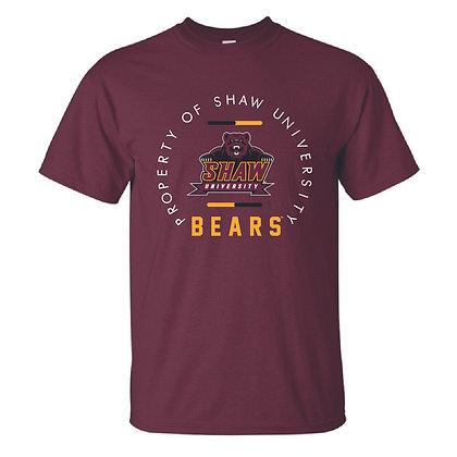 Shaw U088 Maroon T-Shirt