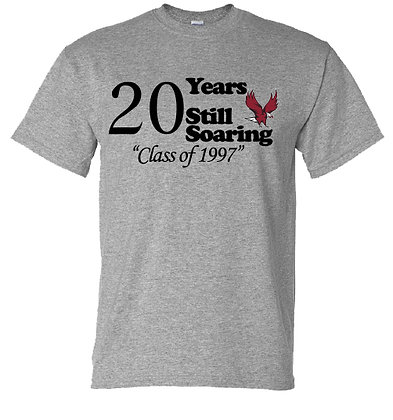 20 Years Still Soaring Crew Neck Tee