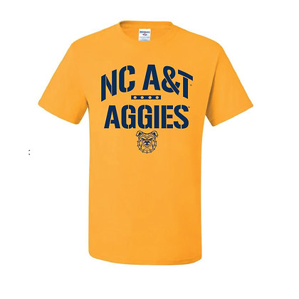 NCA&T107 Gold Aggies Short Sleeve