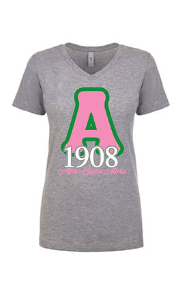 AKA020 Ladies AKA 1908 VNeck