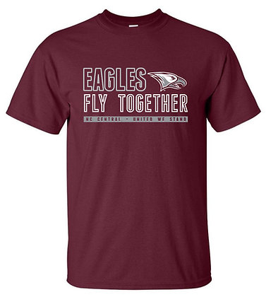 NCCU024 Eagles Fly Together Short Sleeve