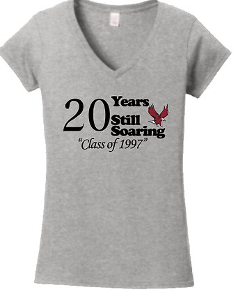 20 Years Still Soaring Women's V-Neck