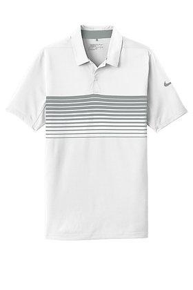 NKAA1855  Nike Dri-FIT Chest Stripe Polo