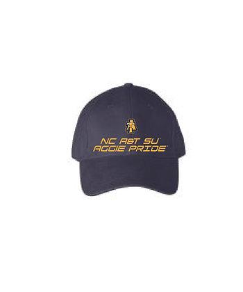 NCA&T178C Navy Aggie Baseball Cap