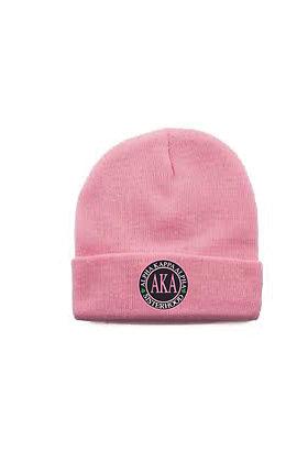 AKA022 Pink Beanie