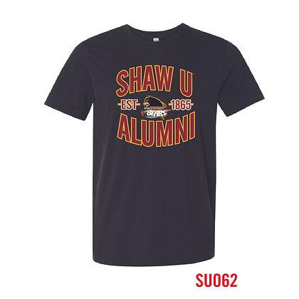 Shaw U Black Alumni Tee