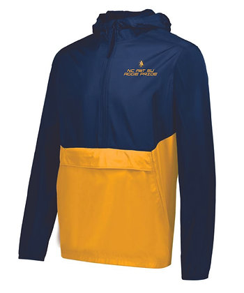 NCA&T178LC Navy/Gold Pullover Jacket