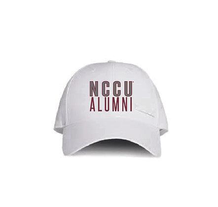 NCCU127 White Alumni Hat