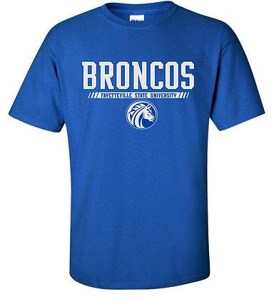 FSU014 Royal Blue Broncos Sweatshirt