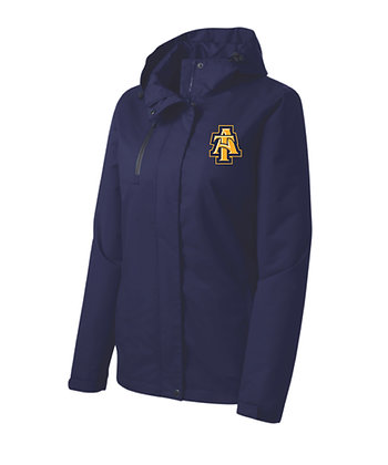 NCATL331 LADIES HOODED JACKET