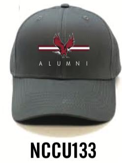 NCCU133 Gray Alumni Hat