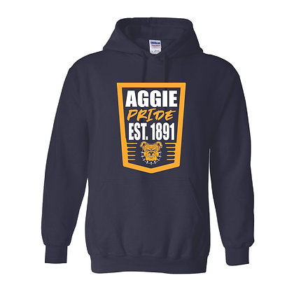 NCA&T176H Navy Aggie Pride  Hoodie