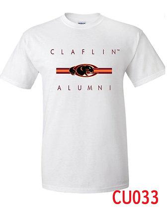 CU033 White Alumni Tee