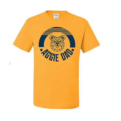 NCA&T084 Aggie Dad Gold Short Sleeve