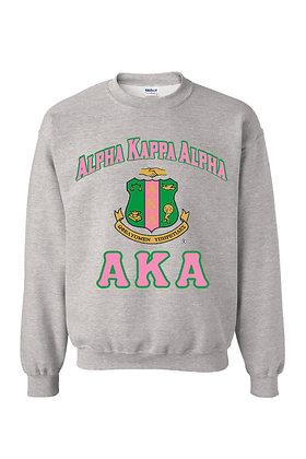 AKA020 1908 AKA Shield Sweatshirt