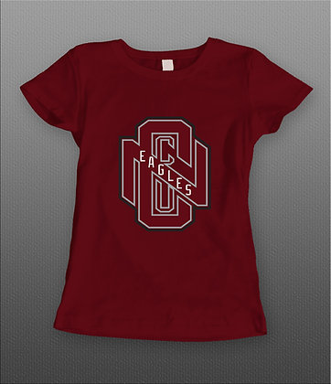 NCCU009 NCCU Eagles Tee