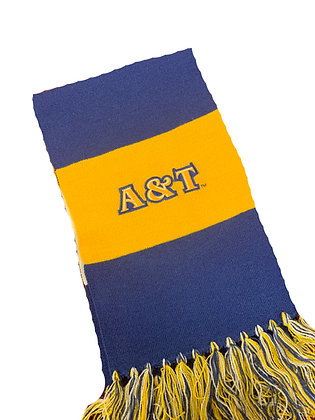 NCA&T180 Navy/Gold Scarf