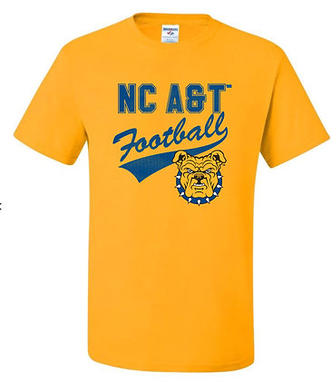 NCAT019 Football Tee
