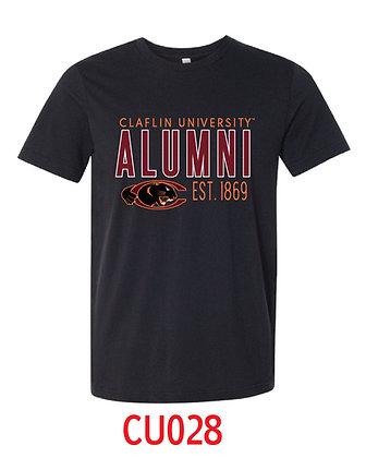 CU028 Black Alumni Tee