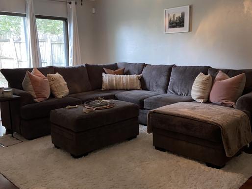 Cozy Bohemian, Modern Living Room Style Fall 2020