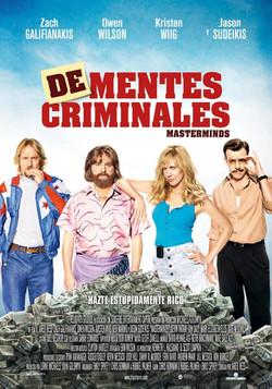DE-MENTES CRIMINALES
