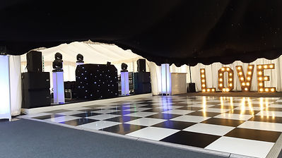 Disco, Dance FLoor & Letters.jpg