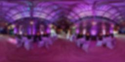 Uplighting - Hunters Hall Wedding - Norfolk