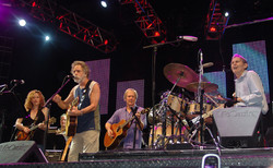 Bob Weir with the Levon Helm Band