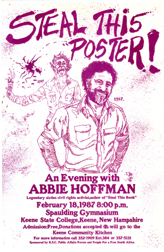 Abbie Hoffman- Steal This Poster