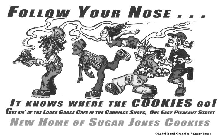 Sugar Jones - Follow-Your-Nose ad