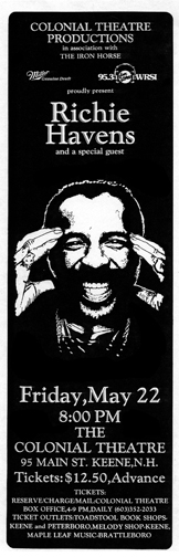 Colonial Theatre - Richie Havens