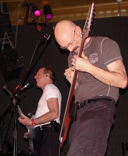 Adrian Belew and Tony Levin